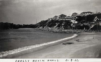 Fairy Bower beach 21 August 1929