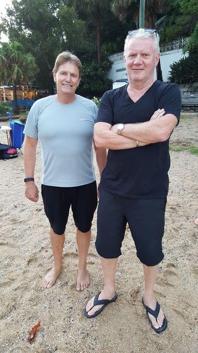 Ian and John