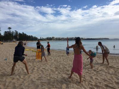 Beach cricket ii