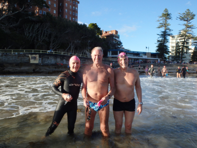 Surfing at Manly