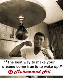 Muhammad Ali wake up
