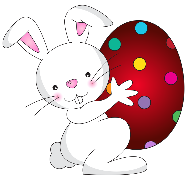 Best-hd-white-easter-bunny-transparent-free-clipart-hd-image