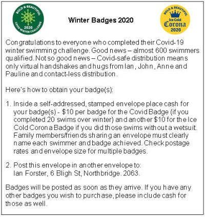 Winter Badge Collection