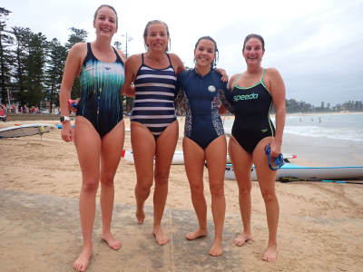 4 swimmers