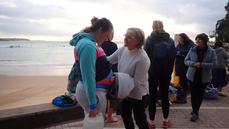 Mum and grandma in training