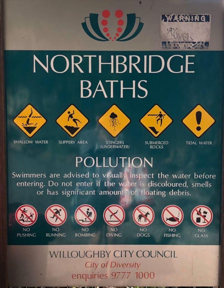 Northbridge sign