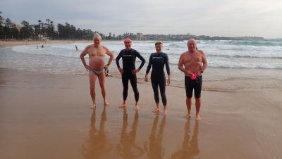 Dave before swim