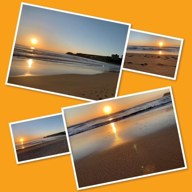 Sunrise montage