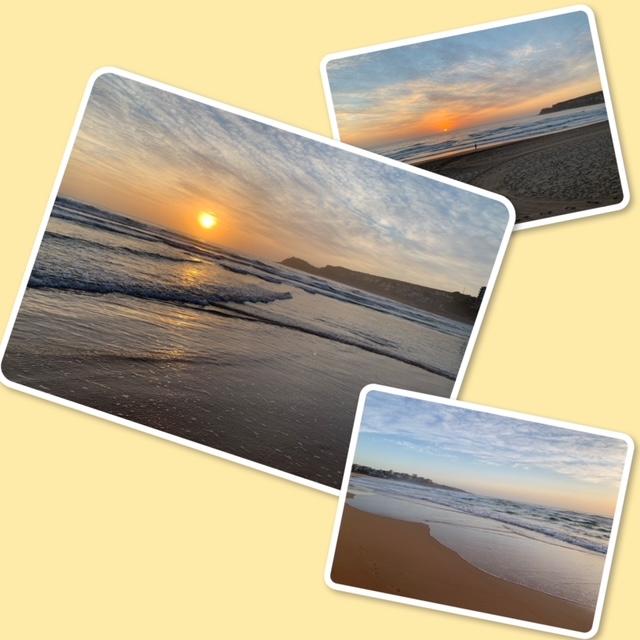 Todays sunrise at sixtwentyam